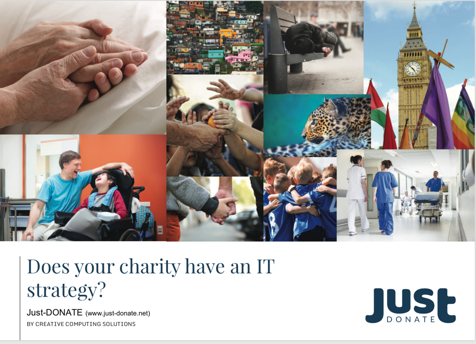 Just Donate - Does your charity have an IT strategy