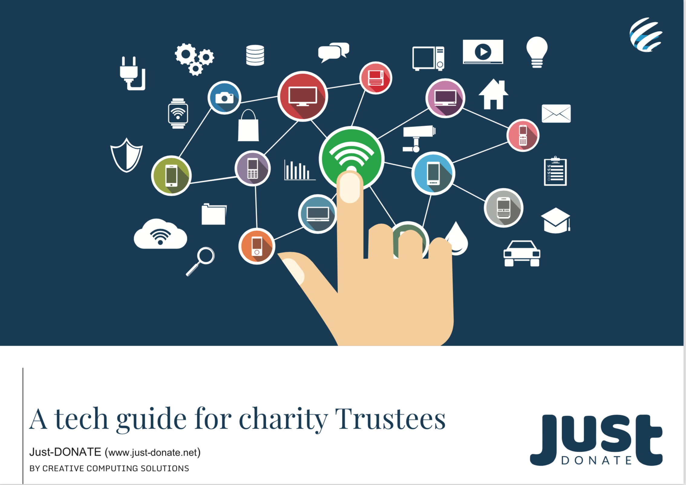 Just Donate - A tech guide for charity trustees